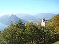 Vue de Lugano et du lac depuis le Monte Brè 07.JPG