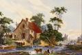 Vue des Environs de Mantes - Jean Baptiste Huet.png