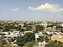 Vue panoramique quartier cadjéhoun-Cotonou au Bénin 1.jpg