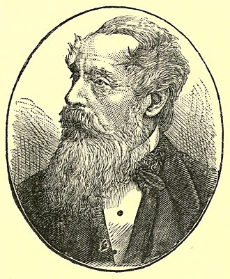 William Henry Giles Kingston - Kingston in an 1884 portrait