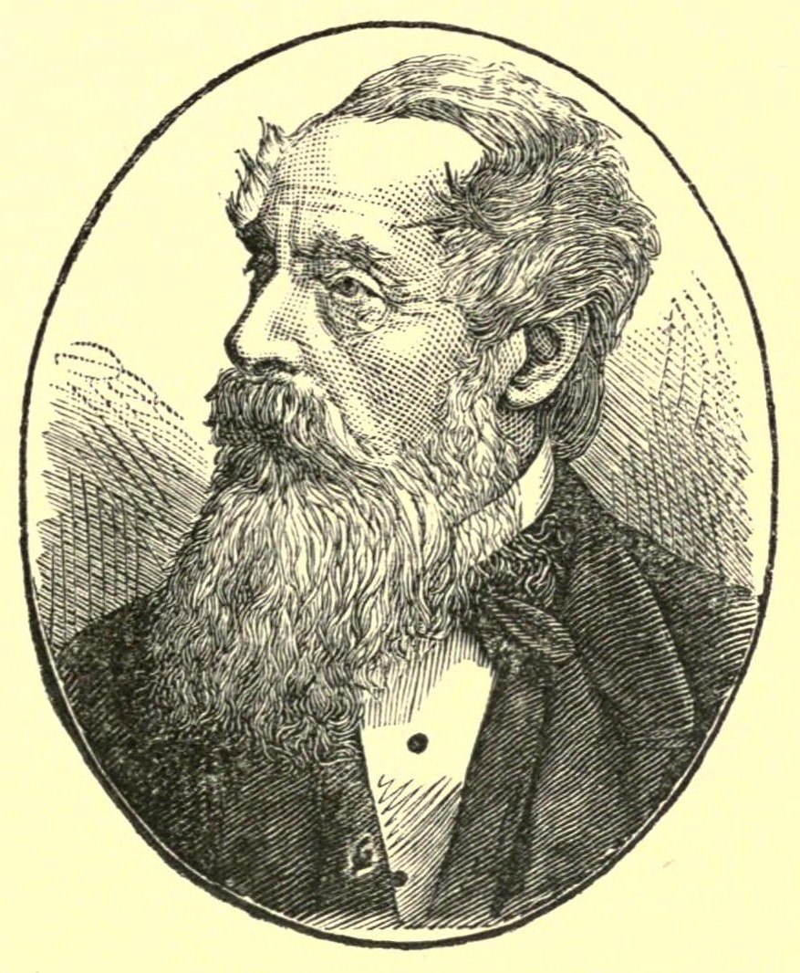 Kingston in an 1884 portrait