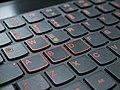 WASD keys on keyboard 20171227.jpg