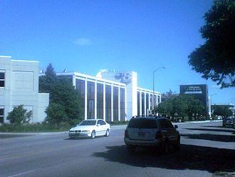 WISH-TV - WISH-TV's studio facility on Meridian Street.
