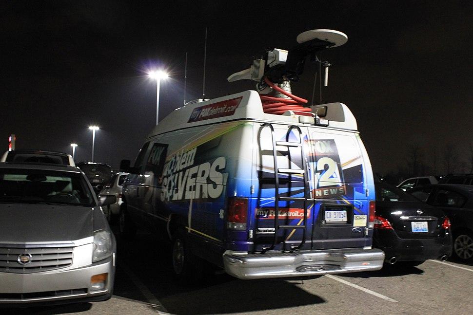 WJBK News Remote Van Novi Michigan