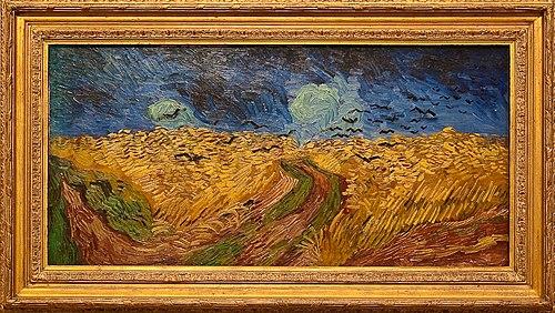 "Vincent van Gogh, ""Wheatfield with crows"", 1890, Van Gogh Museum, Amsterdam"