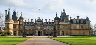 Waddesdon Manor Historic house museum in Aylesbury Vale, United Kingdom