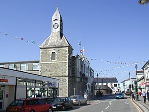 Wadebridge - Image: Wadebridge Clock tower