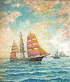 Waiting for the Pilot (Off The Farralon Islands), by William A. Coulter.jpg