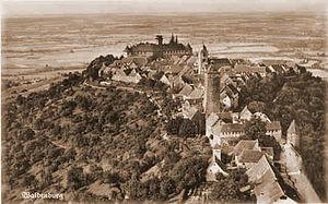 Waldenburg, Baden-Württemberg - Waldenburg in 1930
