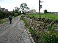 Walking up Haugh Head Road, Hoylandswaine - geograph.org.uk - 948506.jpg