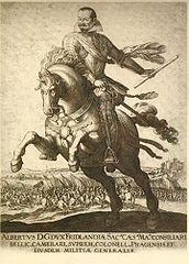 Albrecht von Wallenstein, Reiterbild um 1625