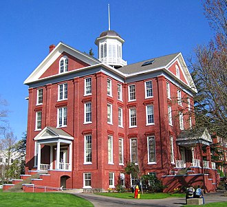 Waller Hall - Waller Hall in the springtime