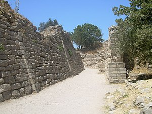 12th century BC - Walls of the excavated city of Troy, supposed center of the legendary Trojan War