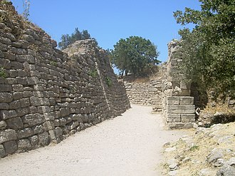 Troy - Portion of the walls of Troy (VII)