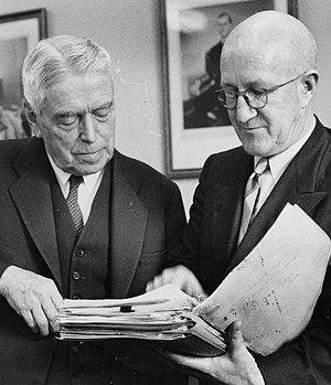 Arnold Nordmeyer - Nash and Nordmeyer in 1958.