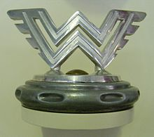 alt=Description de l'image Wanderer-Werke A.G. hood ornament W126.JPG.