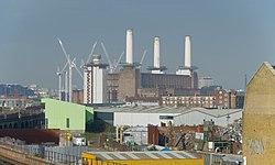 Wandsworth Road railway station MMB 09 Battersea Power Station.jpg