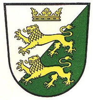 Ahlden - Image: Wappen Ahlden