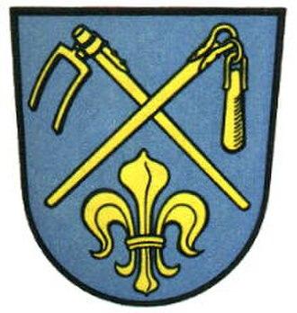 Höchberg - Image: Wappen Höchberg Bavaria