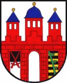 Das Wappen von Trebsen/Mulde