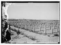 War cemetery consecration, Gaza-Belah, April 28, 1925 LOC matpc.08212.jpg