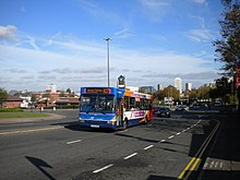 Warwick bus on Warwick Road - geograph.org.uk - 3012652.jpg