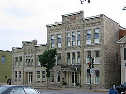 Washington Avenue Historic District in downtown Cedarburg