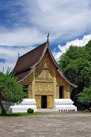 Wat Xieng Thong - Image: Wat Xieng Thong Laos II