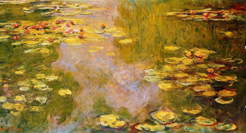 Water-Lily Pond 1919 Claude Monet Metropolitan