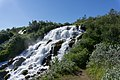 Waterfall, Hiking trail from Dettifoss to Ásbyrgi, Iceland 09.jpg