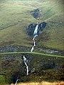 Waterfall at Nant-ystalwyn - geograph.org.uk - 290967.jpg