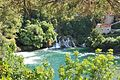 Waterfalls and body of water, Krka national park.jpg