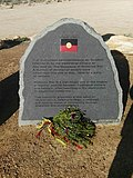 Waterloo Bay massacre memorial plaque