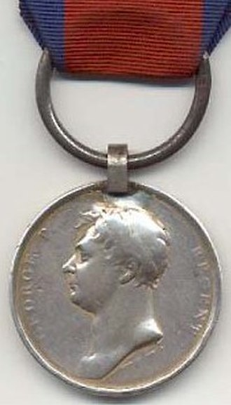 Waterloo Medal - Image: Waterloomedaille 1816 Verenigd Koninkrijk