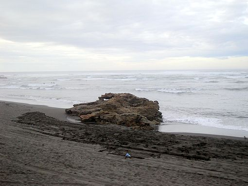 View of the Pichilemu beach from Agustín Ross Balcony. Image: Diego Grez.