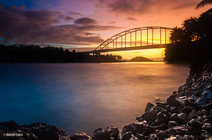 Panaon Island - Wawa Bridge connecting Panaon and Leyte island