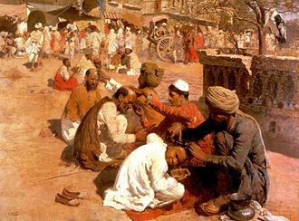 Barber - Image: Weeks Edwin Lord Indian Barbers Saharanpore