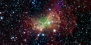 Image from the Spitzer Space Telescope.
