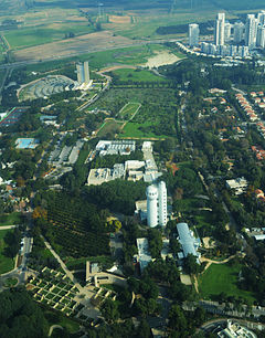 Weizmann Institute of Science Aerial View.jpg