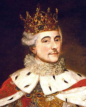 Crown of Bolesław I the Brave - King Stanisław II August wearing the crown.