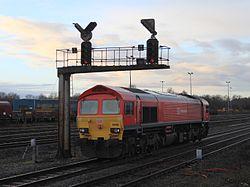 Westbury - DBS 59205 backing up the down line.JPG