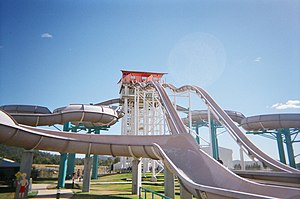 English: Wet'n'Wild Water World Australia Mach 5