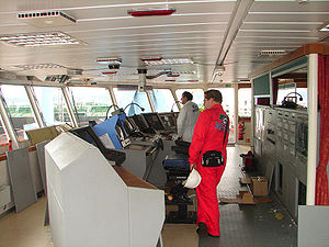 Third mate - While a ship is underway, the officers navigate it, typically in three shifts or watches.