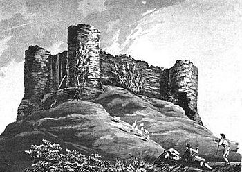 English: 1819 picture of White Castle