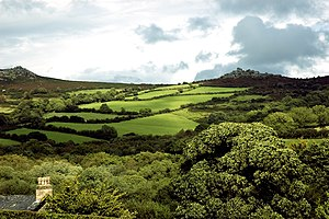 Widecombe in the Moor, England.