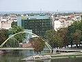 Widok na wyspe Slodowa i Hotel Plaza we Wroclawiu.jpg