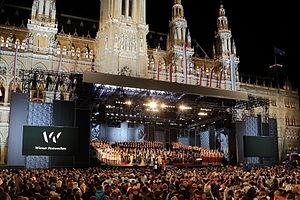 Vienna Festival - Opening Ceremony Wiener Festwochen 2014
