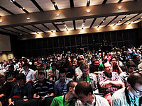 Wikimanía 2015 -Day 3- Opening Ceremony -LMM -México 4.jpg