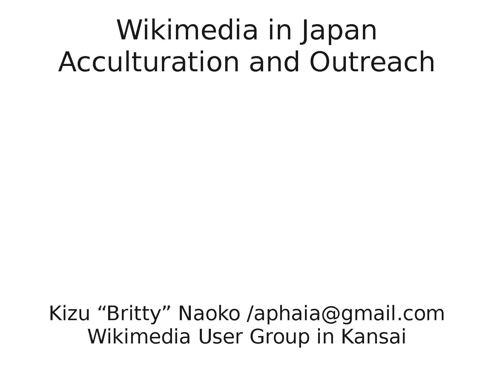 Wikimedia in Japan- Acculturation and Outreach.pdf