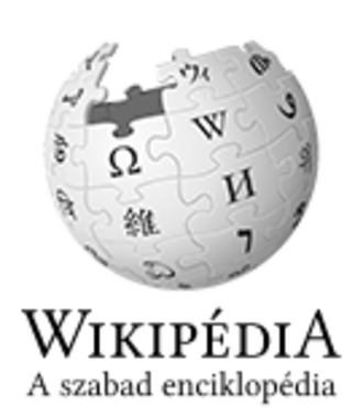 Hungarian Wikipedia - Image: Wikipedia logo v 2 hu